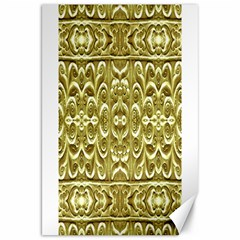 Gold Plated Ornament Canvas 20  x 30  (Unframed)