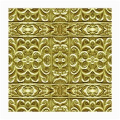 Gold Plated Ornament Glasses Cloth (medium, Two Sided)