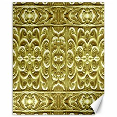 Gold Plated Ornament Canvas 11  X 14  (unframed)