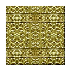 Gold Plated Ornament Face Towel