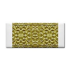 Gold Plated Ornament Hand Towel