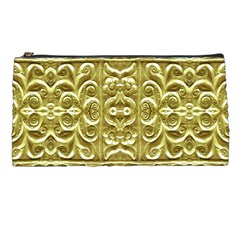Gold Plated Ornament Pencil Case