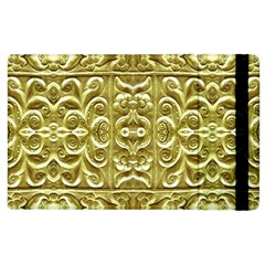 Gold Plated Ornament Apple iPad 2 Flip Case