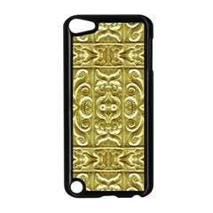 Gold Plated Ornament Apple Ipod Touch 5 Case (black)