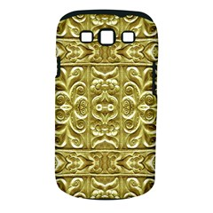 Gold Plated Ornament Samsung Galaxy S Iii Classic Hardshell Case (pc+silicone)