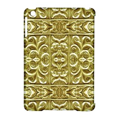 Gold Plated Ornament Apple iPad Mini Hardshell Case (Compatible with Smart Cover)