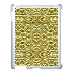Gold Plated Ornament Apple Ipad 3/4 Case (white)