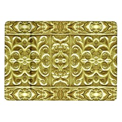 Gold Plated Ornament Samsung Galaxy Tab 10.1  P7500 Flip Case