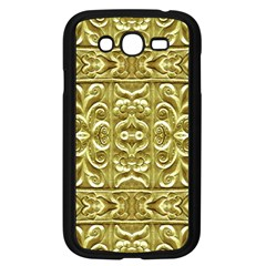 Gold Plated Ornament Samsung Galaxy Grand DUOS I9082 Case (Black)