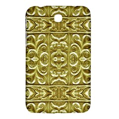 Gold Plated Ornament Samsung Galaxy Tab 3 (7 ) P3200 Hardshell Case