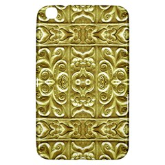 Gold Plated Ornament Samsung Galaxy Tab 3 (8 ) T3100 Hardshell Case