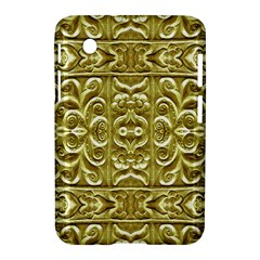 Gold Plated Ornament Samsung Galaxy Tab 2 (7 ) P3100 Hardshell Case
