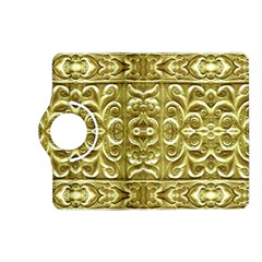 Gold Plated Ornament Kindle Fire Hd 7  (2nd Gen) Flip 360 Case