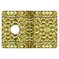 Gold Plated Ornament Kindle Fire Hdx 7  Flip 360 Case