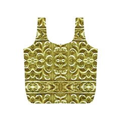 Gold Plated Ornament Reusable Bag (s)