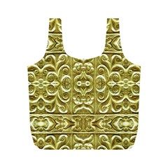 Gold Plated Ornament Reusable Bag (M)