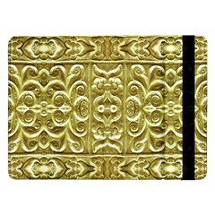 Gold Plated Ornament Samsung Galaxy Tab Pro 12.2  Flip Case