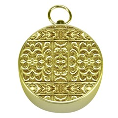 Gold Plated Ornament Gold Compass