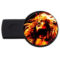 Golden God 2gb Usb Flash Drive (round)