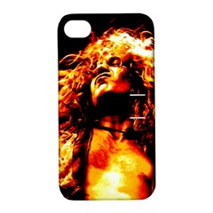 Golden God Apple Iphone 4/4s Hardshell Case With Stand