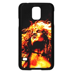 Golden God Samsung Galaxy S5 Case (Black)