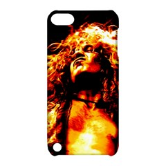 Golden God Apple Ipod Touch 5 Hardshell Case With Stand