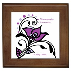 2015 Awareness Day Framed Ceramic Tile