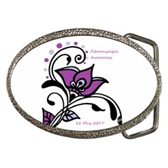 2015 Awareness Day Belt Buckle (Oval)