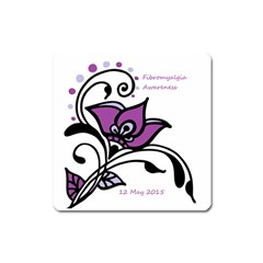 2015 Awareness Day Magnet (square)
