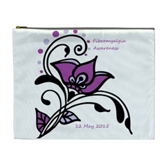 2015 Awareness Day Cosmetic Bag (xl)
