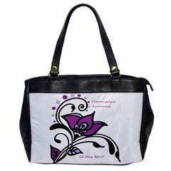 2015 Awareness Day Oversize Office Handbag (one Side)