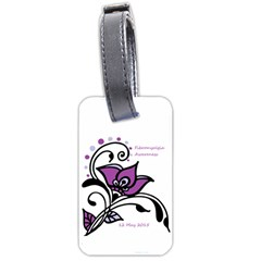 2015 Awareness Day Luggage Tag (One Side)