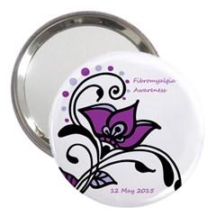 2015 Awareness Day 3  Handbag Mirror