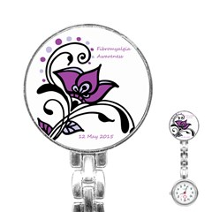 2015 Awareness Day Stainless Steel Nurses Watch