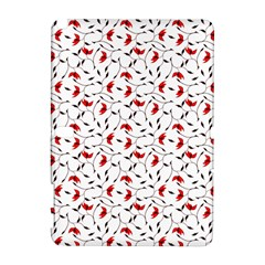 Delicate Red Flower Pattern Samsung Galaxy Note 10 1 (p600) Hardshell Case