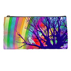 Rainbow Moon Pencil Case