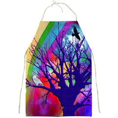 Rainbow Moon Apron