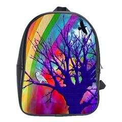 Rainbow Moon School Bag (xl)