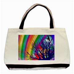 Rainbow Moon Classic Tote Bag