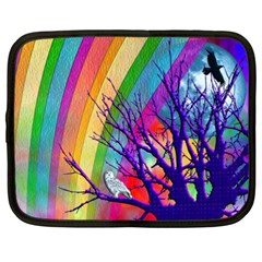 Rainbow Moon Netbook Sleeve (xxl)
