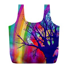 Rainbow Moon Reusable Bag (L)