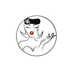 Pin Up Golf Ball Marker (for Hat Clip)