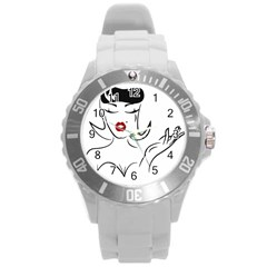 Pin Up Plastic Sport Watch (Large)