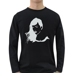 Pin Up Men s Long Sleeve T-shirt (Dark Colored)