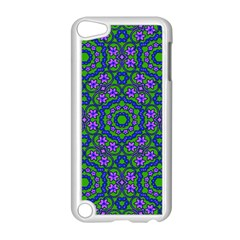 Retro Flower Pattern  Apple Ipod Touch 5 Case (white)