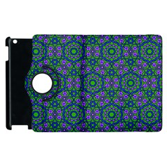 Retro Flower Pattern  Apple iPad 2 Flip 360 Case