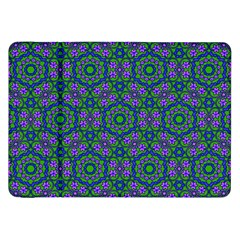 Retro Flower Pattern  Samsung Galaxy Tab 8.9  P7300 Flip Case