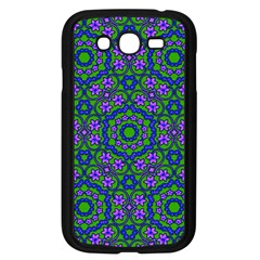 Retro Flower Pattern  Samsung Galaxy Grand DUOS I9082 Case (Black)