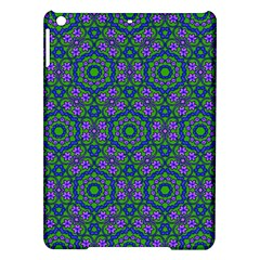 Retro Flower Pattern  Apple Ipad Air Hardshell Case