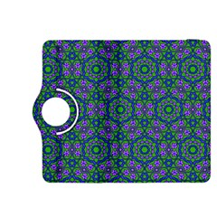 Retro Flower Pattern  Kindle Fire HDX 8.9  Flip 360 Case